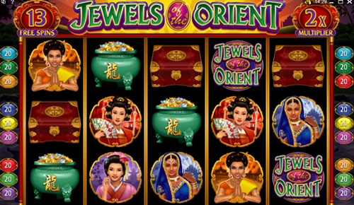 Jewels of the Orient Slot Game