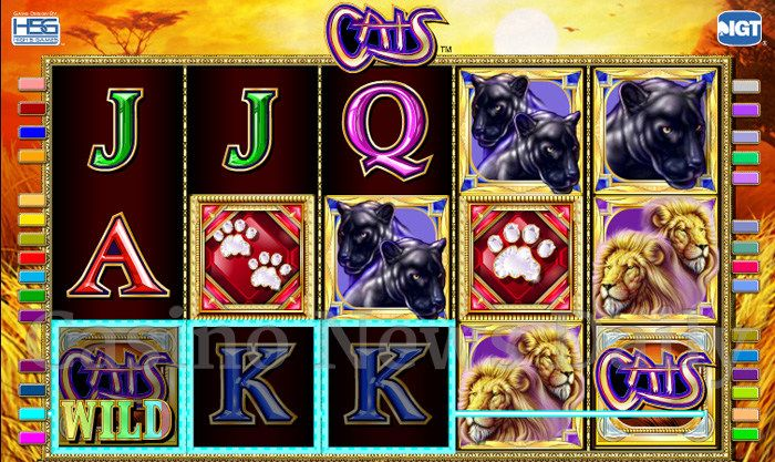 Lumber Cats Slot Game