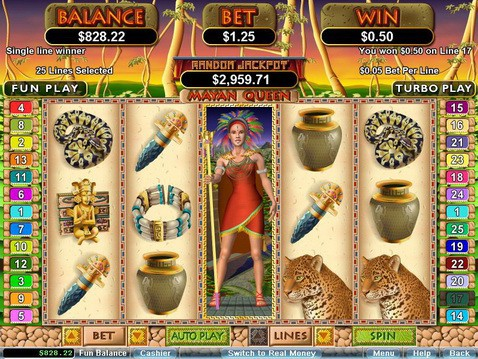 Mayan Queen Slot Game