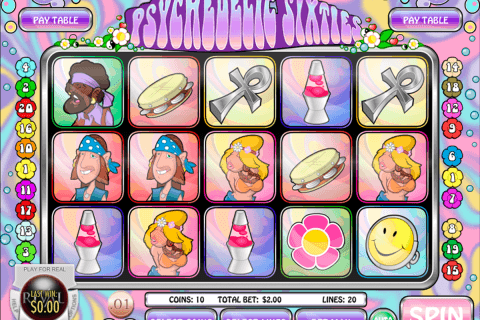 Psychedelic Sixties Slot Game