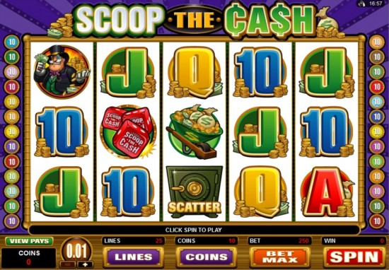 Scoop the Cash Slot Game