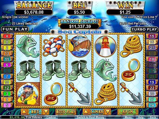 Sea Captain Slot Game