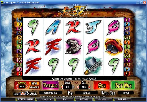Street Fighter 4 Slot Game