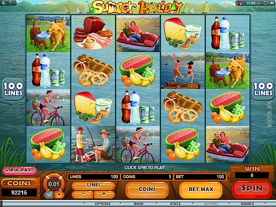 Summer Holiday Slot Game