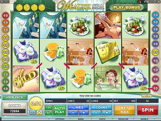 Wealth Spa Slot Game